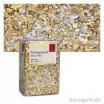 Passione Schlagmetall-Flocken, klein abburstig | Mix Gold (12 g)