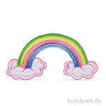 Patch zum Aufbügeln - Rainbow, 6,7x3,5 cm