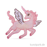 Patch zum Aufbügeln - Unicorn, 5x4,5 cm