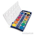 Pelikan Deckfarbkasten mit 12 Farben und Deckweiß