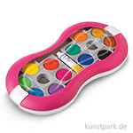 Pelikan Deckfarbkasten Space mit 12 Farben und Deckweiß - Magenta