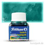 Pelikan Tusche A 10 ml   Grün Dunkel