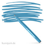 PENTEL Arts Brush Sign Pen Einzelstift | Hellblau