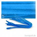 Pfeifenputzer Chenilledraht, 10 Stück, Einzelfarbe 50 cm | Hellblau