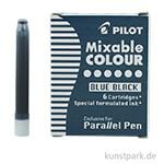 Pilot Pen Patronen 6 Stk - Blauschwarz