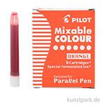 Pilot Pen Patronen 6 Stk - Orange