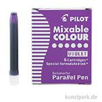 Pilot Pen Patronen 6 Stk - Violett