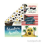 Pirate Tales Scrappapier - 6x4 Journaling Cards