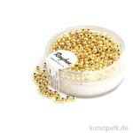 Plastik Rundperlen - Gold Rund | 2,5 mm - 240 Stück