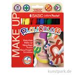 Playcolor Make up - Basisfarben, 6 Stück sortiert