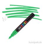Posca Marker PC-1M - extrafein 0,7-1,3 mm Einzelstift | Grün