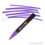 Posca Marker PC-1M - extrafein 0,7-1,3 mm Einzelstift | Violett