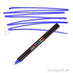 Posca Marker PC-1MR - extrafein 0,7 mm Einzelstift | Blau