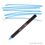 Posca Marker PC-1MR - extrafein 0,7 mm Einzelstift | Hellblau