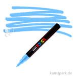 Posca Marker PC-3M - fein 1,5 mm Einzelstift   Hellblau