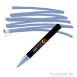 Posca Marker PC-3M - fein 1,5 mm Einzelstift   Schiefergrau