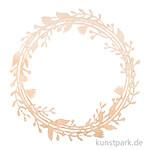 Rankenkranz aus Naturholz, Durchmesser 31 cm