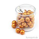 Renaissance Glaswachsperlen - 10 mm 35 Stk. | Goldgelb