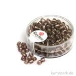 Rocailles mit Silbereinzug - 4 mm 17 g Dose | Lila