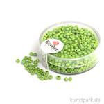 Rocailles opak gelüstert - 2 mm 17 g Dose | Hellgrün