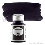 Rohrer & Klingner Schreibtinte 50 ml | 707 Leipziger Schwarz