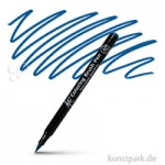Sakura KOI Coloring Brush Pen Einzelstift | Prussian Blue