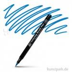 Sakura KOI Coloring Brush Pen Einzelstift | Steel Blue