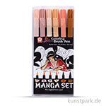 Sakura Koi Manga Set mit 6 Farben