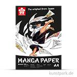 Sakura Manga Zeichenblock, 20 Blatt, 250g DIN A4