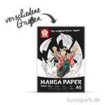 Sakura Manga Zeichenblock, 20 Blatt, 250g