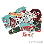 Santa's Workshop Collection - Mixed Bag, 33 Stanzteile