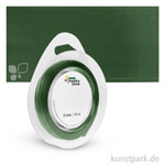 Satinband - 3 mm Breite 10 m | Dunkelgrün
