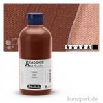 Schmincke AKADEMIE Acrylfarben 500 ml Flasche | 669 Umbra gebrannt
