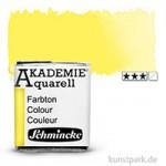 Schmincke AKADEMIE Aquarellfarben 1/2 Napf | 222 Hellgelb zitron