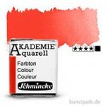 Schmincke AKADEMIE Aquarellfarben 1/2 Napf | 332 Kadmiumrotton