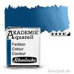 Schmincke AKADEMIE Aquarellfarben 1/2 Napf | 445 Preussischblau