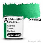 Schmincke AKADEMIE Aquarellfarben 1/2 Napf   553 Permanentgrün