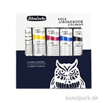 Schmincke Aqua Linoldruck Kartonset Grundfarben 5 x 20 ml
