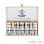 Schmincke Calligraphy Gouache Holzkasten, 12 x 20 ml