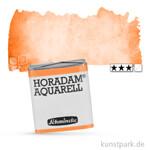 Schmincke HORADAM Aquarellfarben 1/2 Napf | 218 Lasurorange