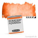 Schmincke HORADAM Aquarellfarben 1/2 Napf   360 Permanentrot orange