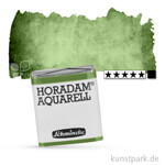 Schmincke HORADAM Aquarellfarben 1/2 Napf | 512 Chromoxidgrün stumpf