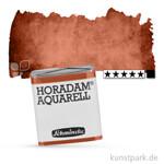 Schmincke HORADAM Aquarellfarben 1/2 Napf   672 Mahagonibraun