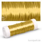 Schmuck-Häkeldraht - 0,30 mm 50 m Spule | Gold