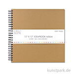Scrapbook Album Plain, 40 Seiten 30,5 x 30,5 cm