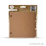 Scrapbooking Ringbuch zum selber gestalten 16,1 x 20,3 cm