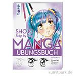 Shojo. Manga Step by Step - Übungsbuch, TOPP