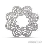 Sizzix Framelits Schablonen Set - Blumen