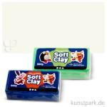 Soft Clay - weiche, geschmeidige Knetmasse 500 g | Weiß