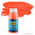 Solo GOYA TRITON Acrylfarben 750 ml Flasche   03 Echtrot